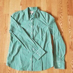 ❤ J. Crew classic checked shirt